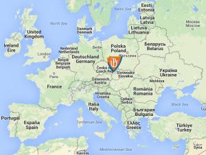 MapaEvropa