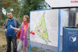 Setkání s místními aktivisty o městském plánování v Kišiněvě